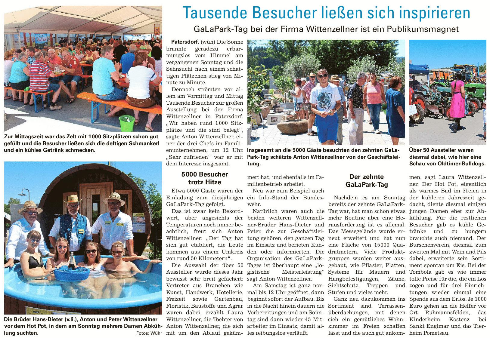 Viechtacher Bayerwald-Bote GaLaPark-Tag 2019
