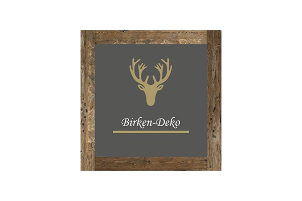 Birken-Deko